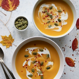 Paprasta moliūgų sriuba