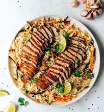 Kiniškos salotos su antiena