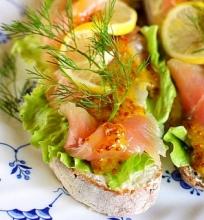Daniški sumuštiniai su lašiša