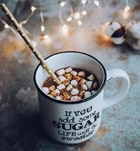 Kokosų pieno karštas šokoladas