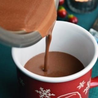 Karštas šokoladas be pieno produktų