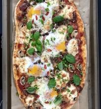 Pusrytinė pica
