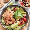 Meksikietiškos salotos su vištiena
