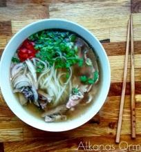 Vietnamietiška sriuba Pho Bo