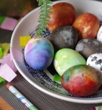 5 būdai dažyti velykinius kiaušinius