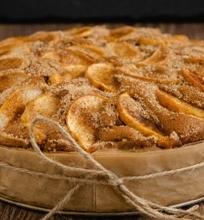 Visada tobulas obuolių pyragas iš to, kas po ranka