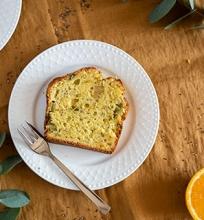 Apelsininis rabarbarų keksas