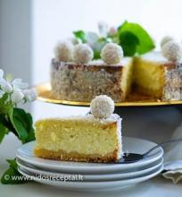 Kokosinis tortas Raffaello