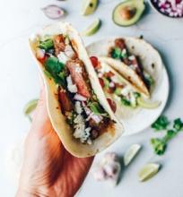 Tacos su grill jautiena