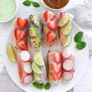 Vietnamietiški spring rolls'ai