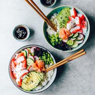 Sushi dubenėlis
