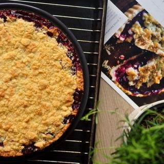 Trupininis vyšnių pyragas