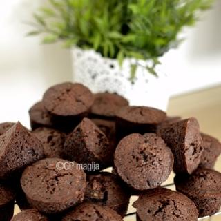 Tobuli šokoladiniai keksiukai