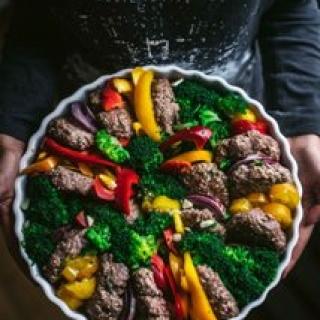 Maltinukai su daržovėmis