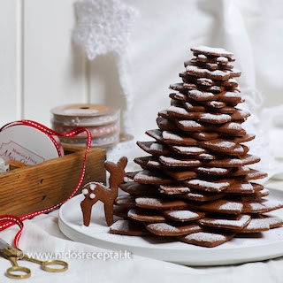 Šokoladinė eglutė