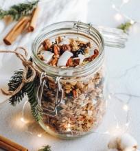 Kalėdinė granola