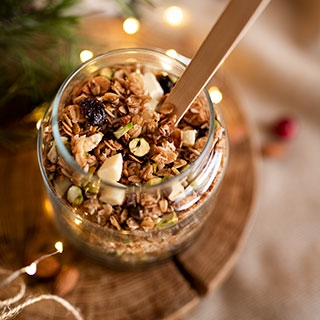 Imbierinė granola