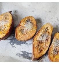 Orkaitėje keptos saldžiosios bulvės