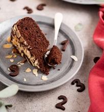 Šokoladinis migdolinis pyragas