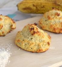 Kokosiniai sausainiai be cukraus