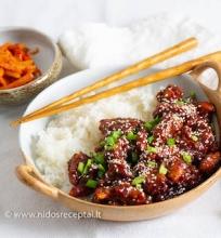 Traški korėjietiška vištiena