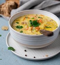 Grikių sriuba su vištiena