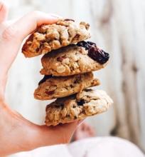 Traškūs avižiniai sausainiai be gliuteno