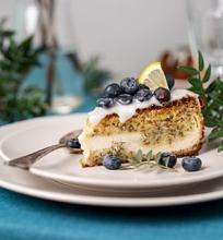 Migdolinis varškės pyragas