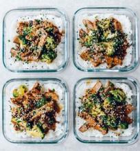 Jautienos ir brokolių stir fry