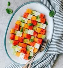 Gaivios vasariškos salotos