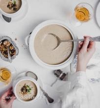 Trinta kepintių kalafiorų sriuba