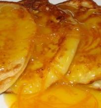 Apelsininiai blyneliai