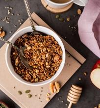 Karamelinė granola