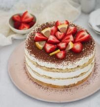 Tiramisu maskarponės tortas