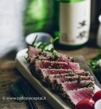 Keptas tuno kepsnys