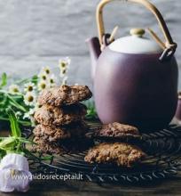 Šokolado ir avižinių dribsnių sausainiai
