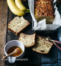 Bananų duona su varške