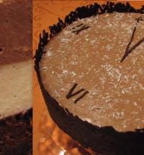 Tortas su kokosiniais – šokoladiniais putėsiais