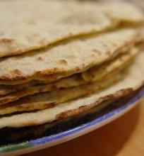 Tortiljos su žolelėm