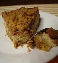 Vegetariškas sveikuoliškas varškės pyragas