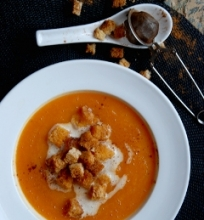 Kreminė morkų sriuba
