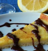 Trapus pyragas su citrininiu kremu