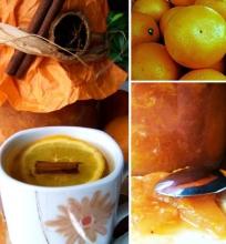 Imbieru kvepianti obuolių ir apelsinų uogienė