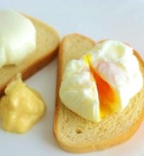 Be lukšto virti kiaušiniai