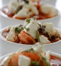 Krevetės graikiškai