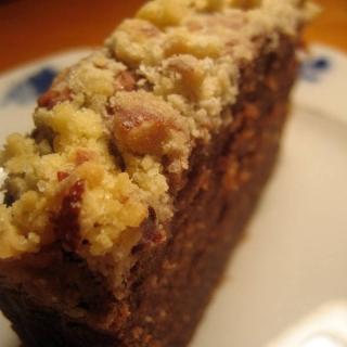 Šokoladinis ir bananinis pyragas