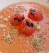 Gaspačo su arbūzu