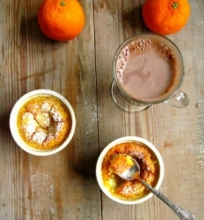 Apelsinų pudingas