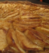 Apple Toffee Tart
