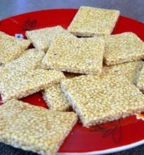 Sezamo saldainiai
